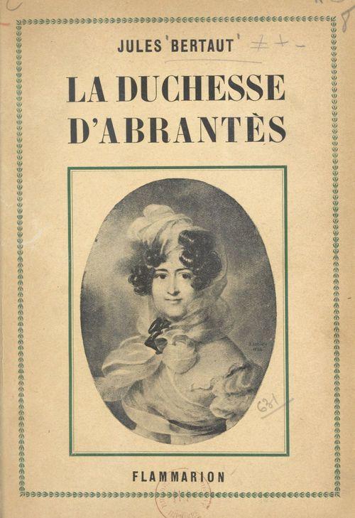 La duchesse d'Abrantès