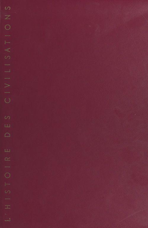L'histoire des civilisations  - Jean Cathelin