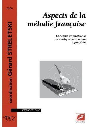 Aspects de la mélodie française