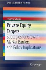 Private Equity Targets  - Francesco Baldi