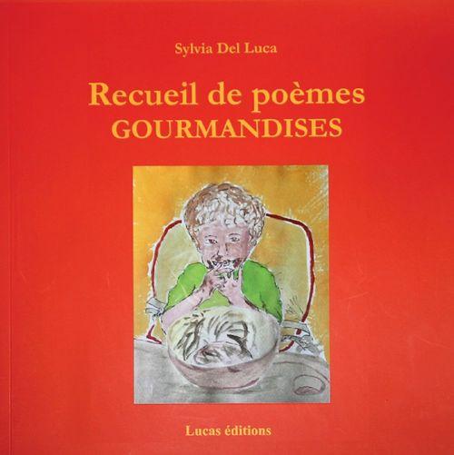 Recueil de poèmes Gourmandises