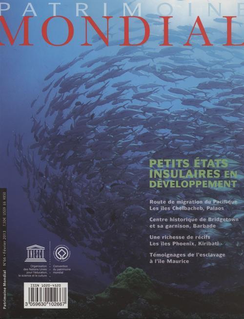 Patrimoine mondial et petits etats insulaires