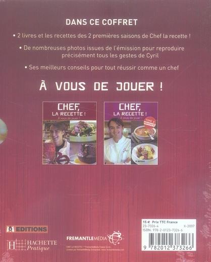 Chef, la recette ; coffret