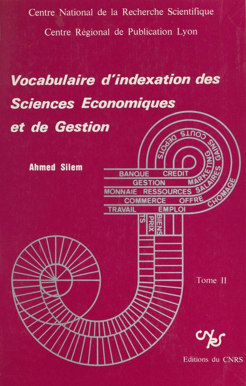 Vocabulaire d'indexation des sciences économiques et de gestion (2)