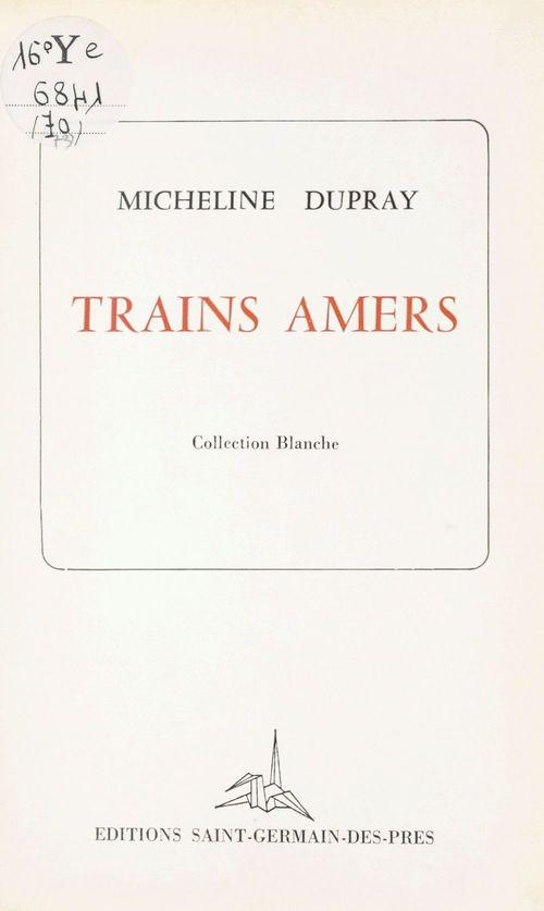 Trains amers