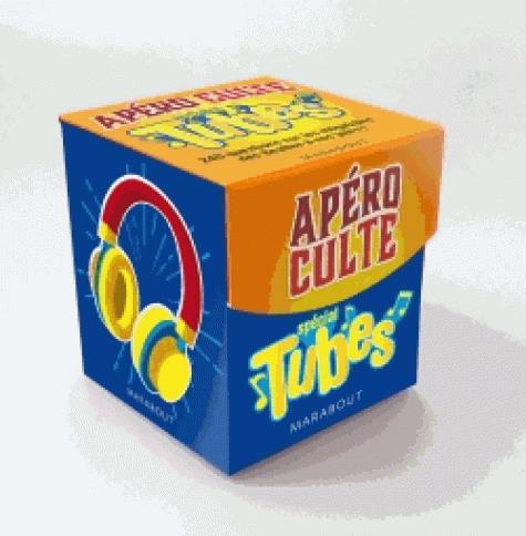 Mini-boîte apéro culte ; spécial tubes