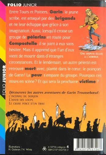Garin Trousseboeuf T.10 ; les pélerins maudits