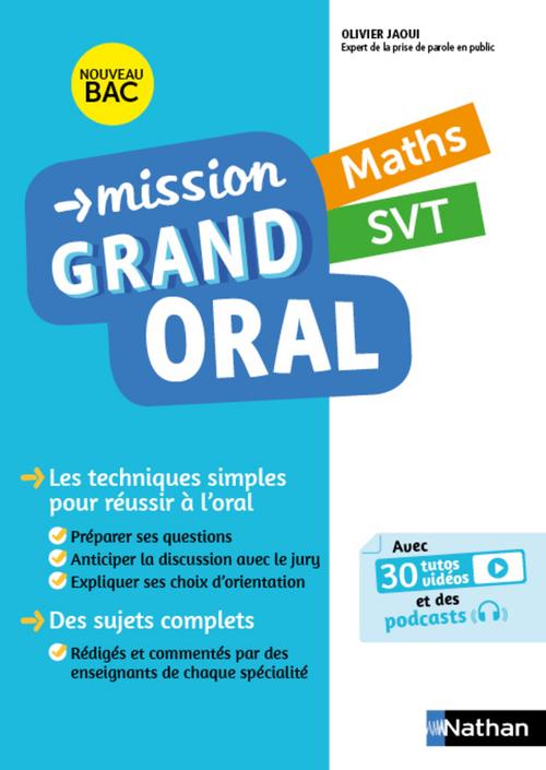 Mathématiques, SVT (édition 2021)