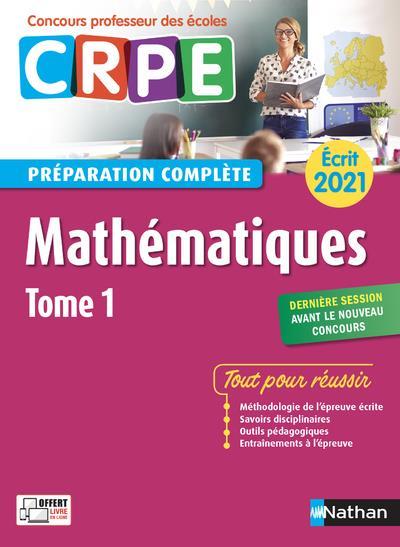 écrit mathématiques t.1 (édition 2021)