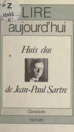 Huis clos, de Jean-Paul Sartre