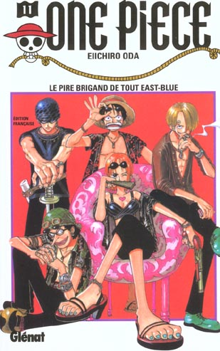 One Piece T.11 ; Le Pire Brigand De Tout East-Blue