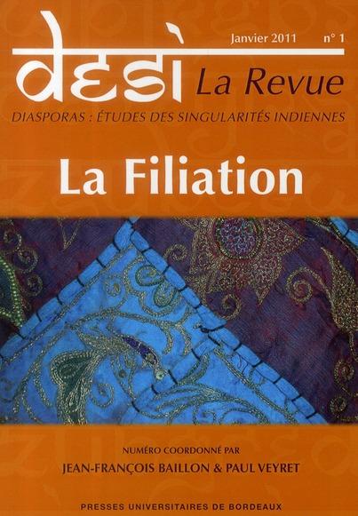 La filiation (janvier 2011)