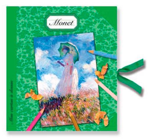 Mon carton à dessin Monet