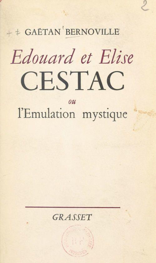 Édouard et Élise Cestac
