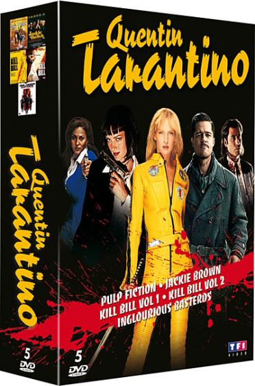 Quentin Tarantino - Coffret 5 films