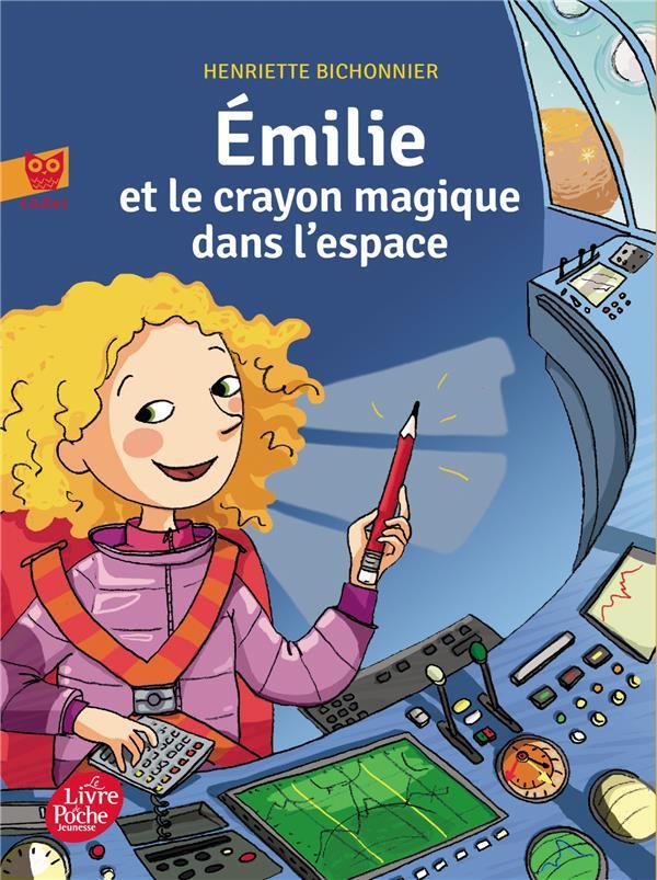 Emilie et le crayon magique t.2 ; dans l'espace