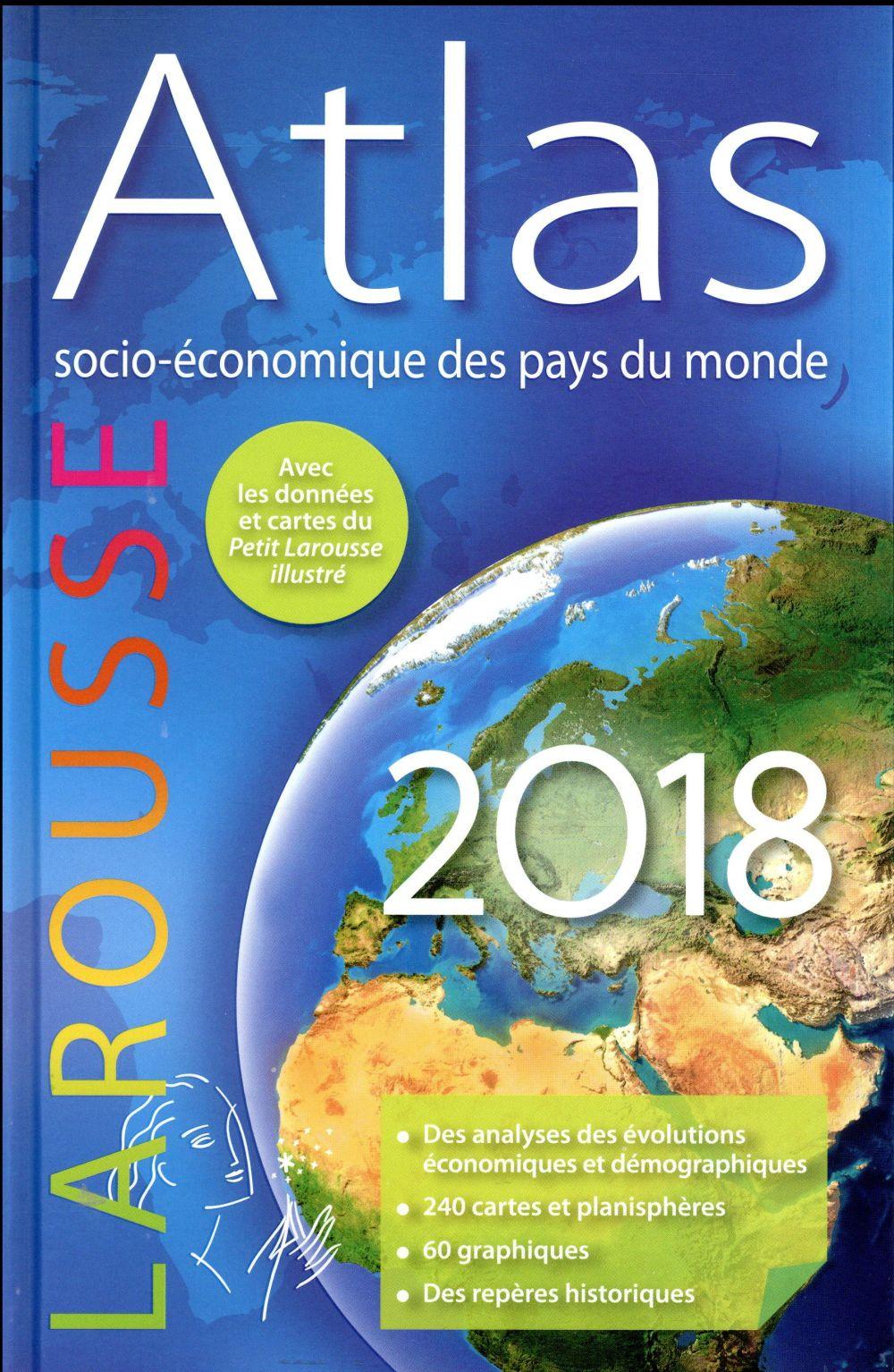 Atlas socio-économique des pays du monde (édition 2018)