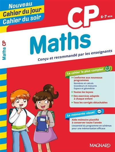 Cahiers du jour/ soir ; mathématiques ; CP