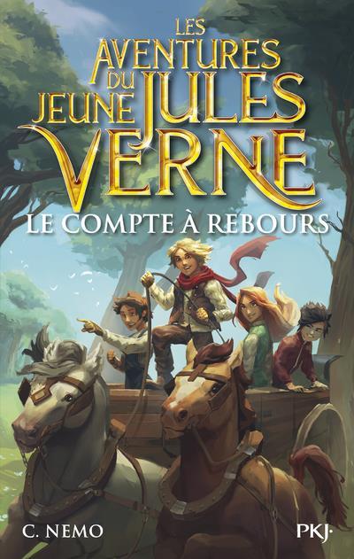 les aventures du jeune Jules Verne t.7 ; le compte à rebours