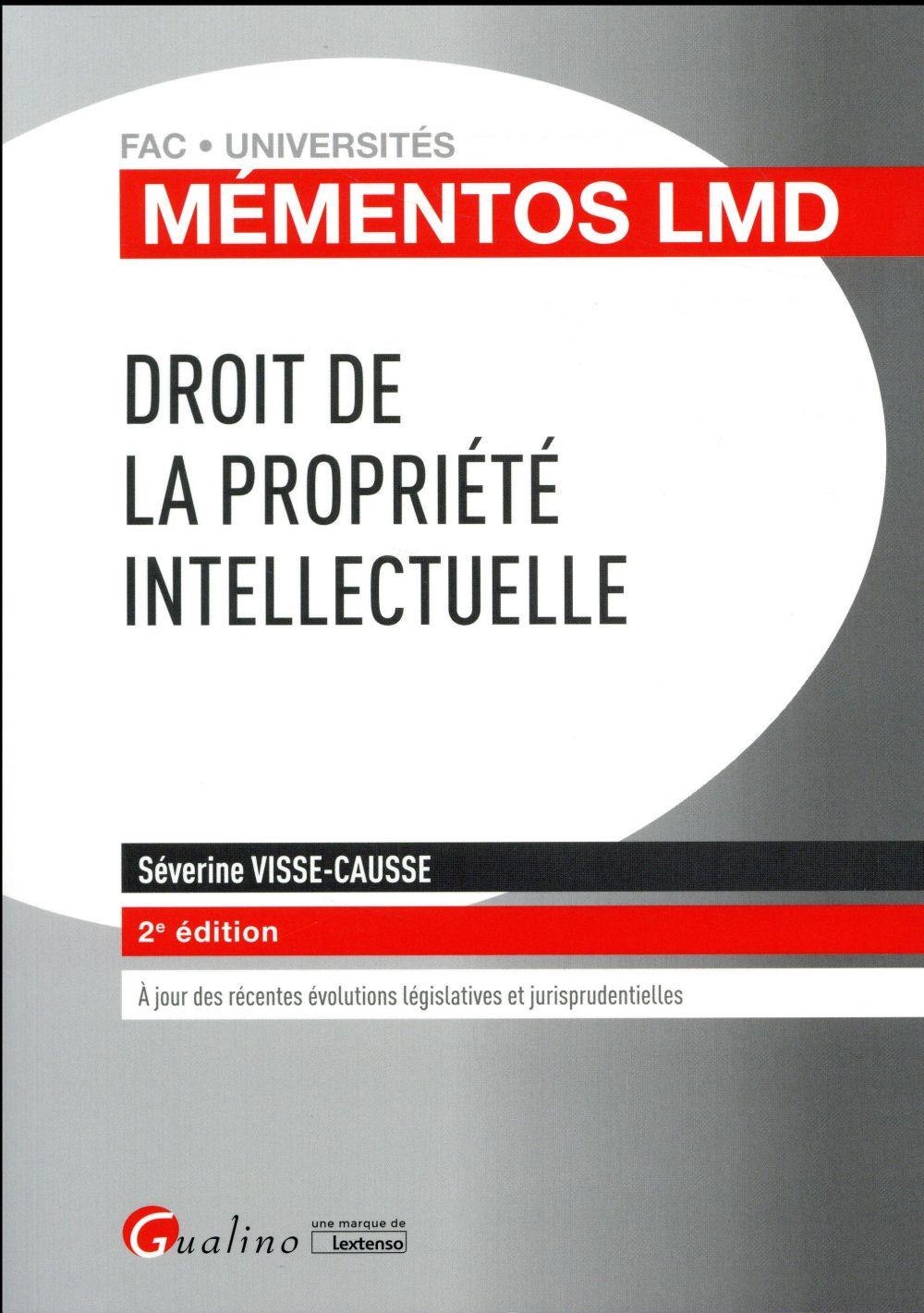 Droit de la propriété intellectuelle (2e édition)