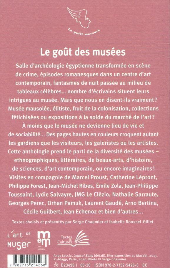 Le goût des musées