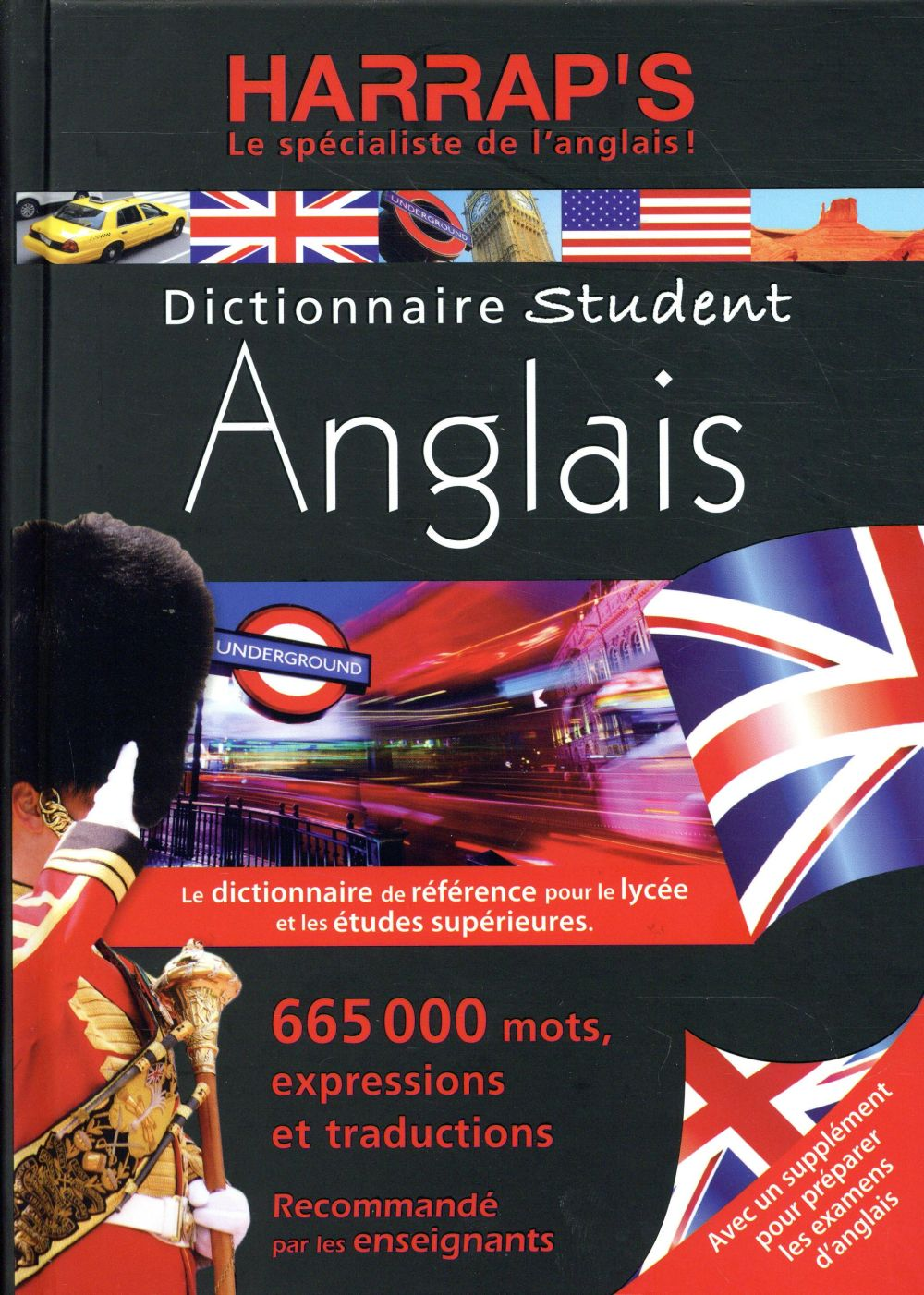 - HARRAP'S DICTIONNAIRE STUDENT ANGLAIS