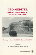 Vente Livre Numérique : Géo-méditer  - Martine Tabeaud - Pech Pierre - Laurent Simon