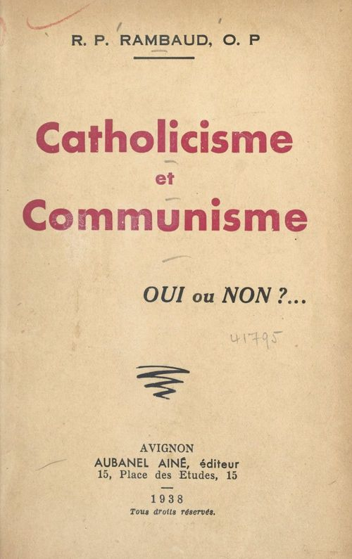 Catholicisme et communisme