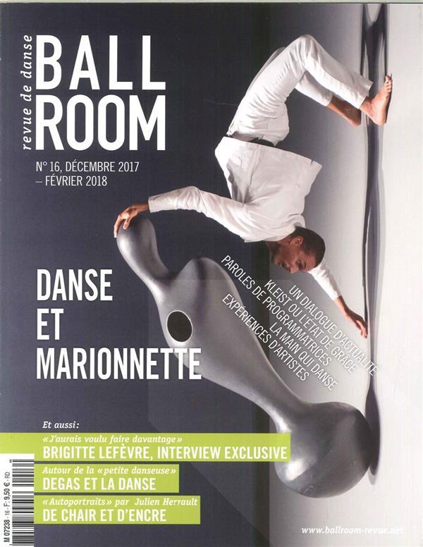 BALLROOM N 16 - LE MONDE DE LA MARIONNETTE - DECEMBRE 2017