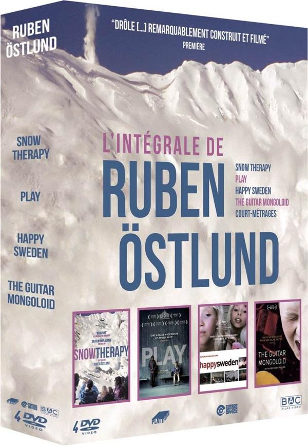Ruben Östlund - Intégrale 4 films : Snow Therapy + Play + Happy Sweden + The Guitar Mongoloid + courts métrages