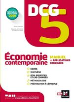 Vente EBooks : DCG 5 - Economie contemporaine - Manuel et applications  - Alain Burlaud - Rémi Leurion