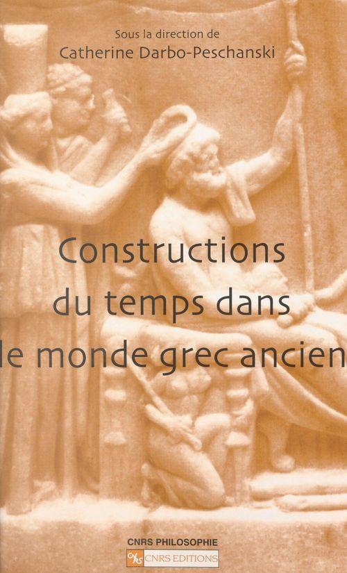 Construction du temps dans le monde grec