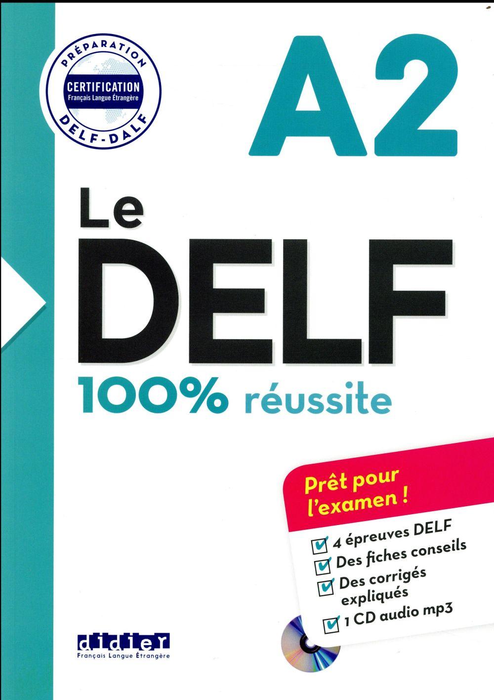 Nouveau DELF A2 (édition 2016)