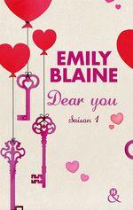 Vente Livre Numérique : Dear you saison 1  - Emily Blaine