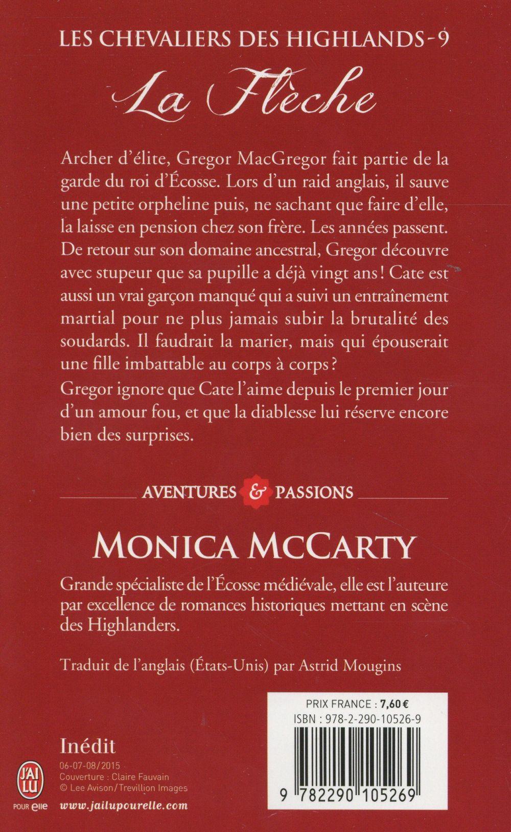 Les chevaliers des Highlands t.9 ; la flèche