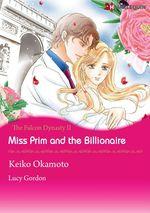 Vente Livre Numérique : Harlequin Comics: The Falcon Dynasty - Tome 2 : Miss Prim and the Billionaire  - Lucy Gordon - Keiko Okamoto