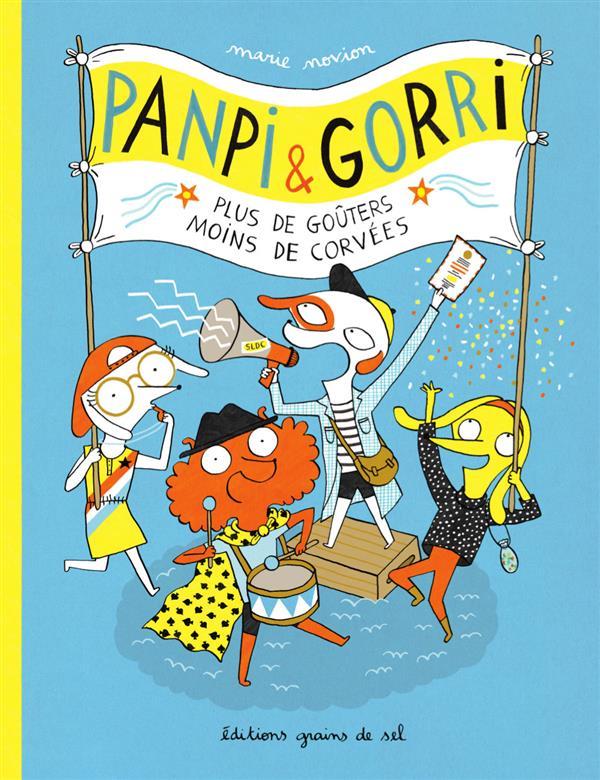 Panpi & Gorri ; plus de goûters, moins de corvées