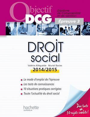 Droit social (édition 2014/2015)