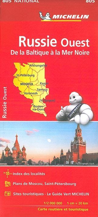 Russie Ouest ; de la Baltique à la Mer Noire