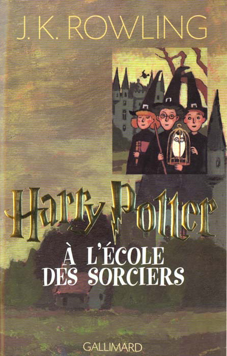 Harry Potter T.1 ; Harry Potter à l'école des sorciers