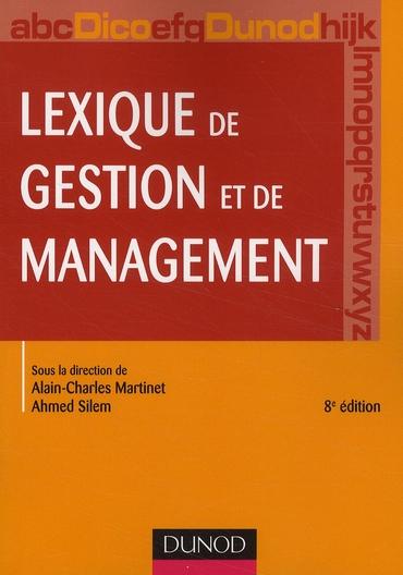 Lexique De Gestion Et De Management (8e Edition)