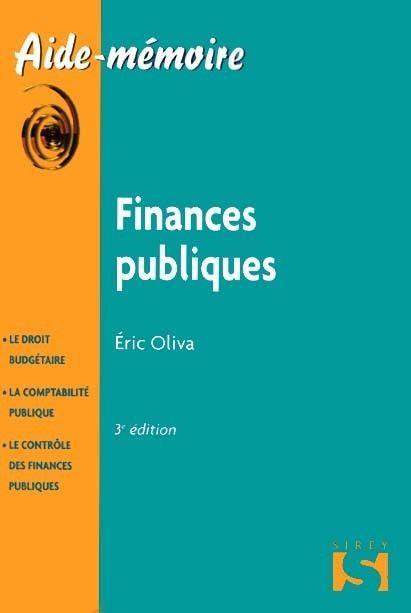 Finances publiques (3e édition)