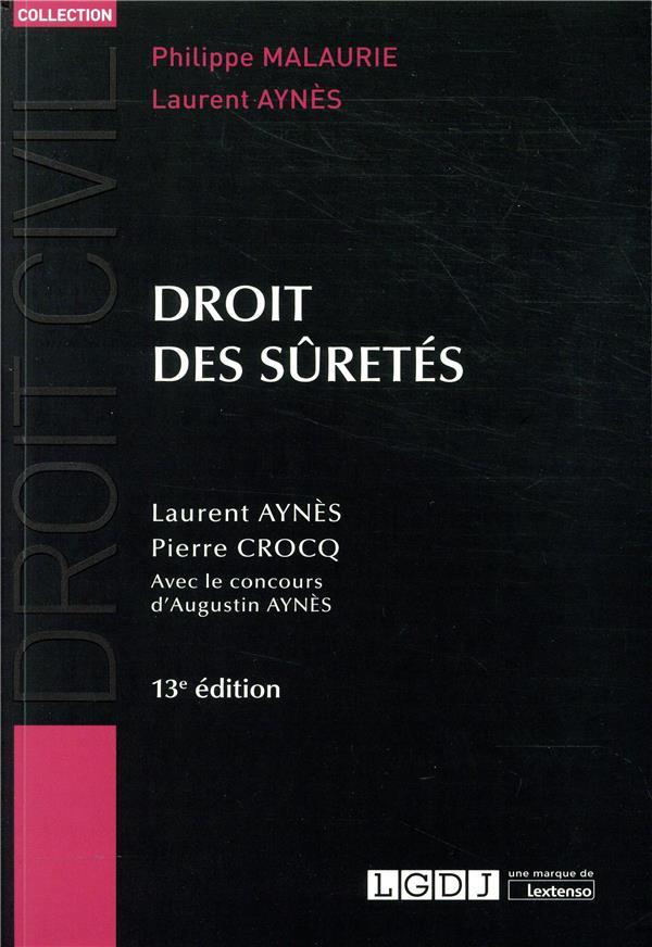 Droit des sûretés (13e édition)