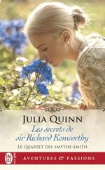 Vente Livre Numérique : Le quartet des Smythe-Smith (Tome 4) - Les secrets de sir Richard Kenworthy  - Julia Quinn