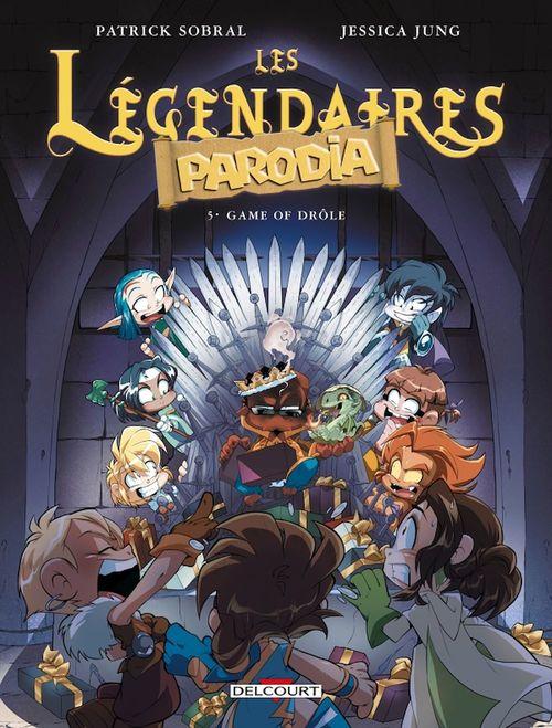 Les Légendaires - Parodia T.5 ; game of drôle