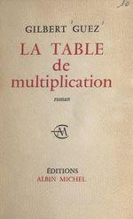 La table de multiplication