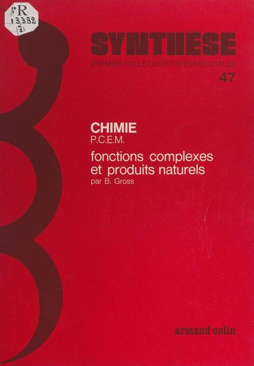 Fonctions complexes et produits naturels