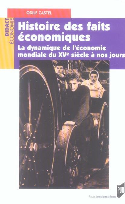 Histoires Des Faits Economique