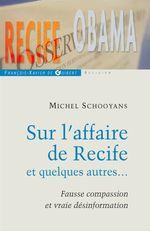 Vente Livre Numérique : Sur l'affaire de recife et quelques autres...  - Michel Schooyans