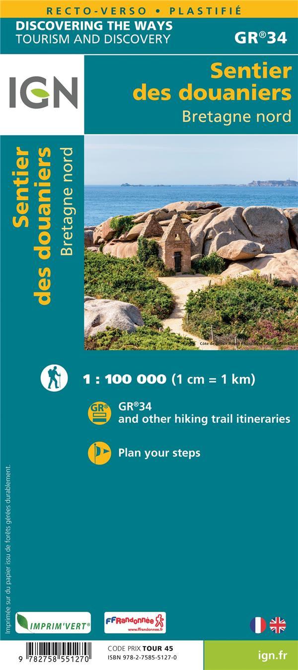 GR34 : les sentiers douaniers de Bretagne Nord